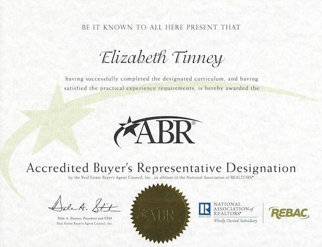 Elizabeth Tinney Of The Monica Foster Team Receives Abr The Monica