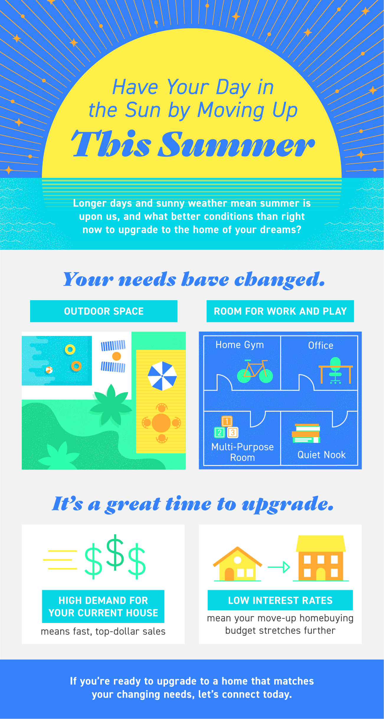 Have Your Day in the Sun by Moving Up This Summer [INFOGRAPHIC] | Simplifying The Market